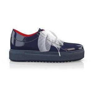 BREN MAROE Designer Women Sport Tec Blue Sneaker